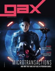 Cover Majalah gax Malaysia Januari 2018