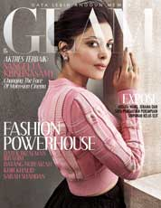 Cover Majalah GLAM Januari 2018