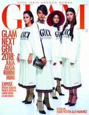 Cover Majalah GLAM Februari 2018