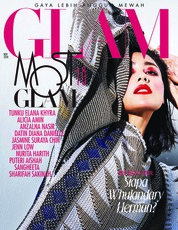 Cover Majalah GLAM November 2018