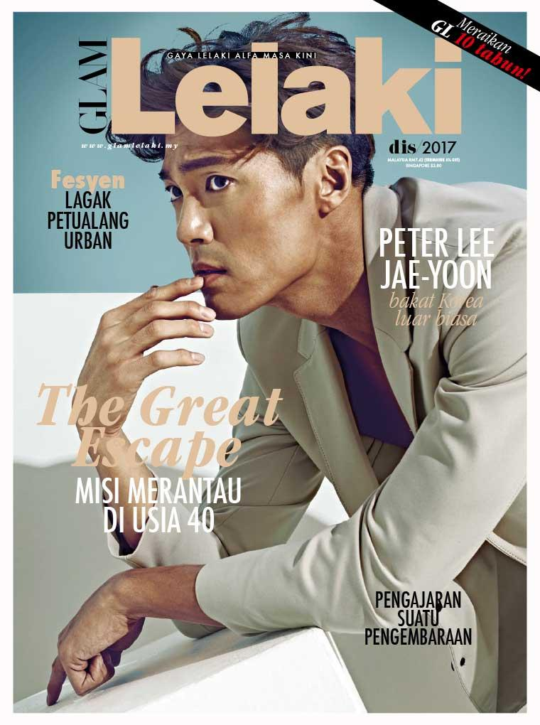 GLAM Lelaki Digital Magazine December 2017