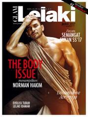 Cover Majalah GLAM Lelaki Juli 2017