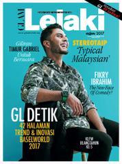 GLAM Lelaki Magazine Cover August 2017