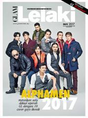 GLAM Lelaki Magazine Cover November 2017