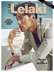 GLAM Lelaki Magazine Cover December 2017