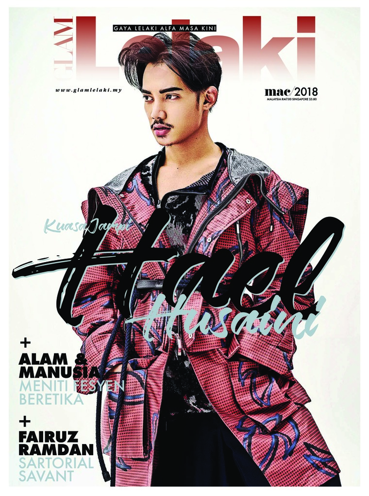 GLAM Lelaki Digital Magazine March 2018