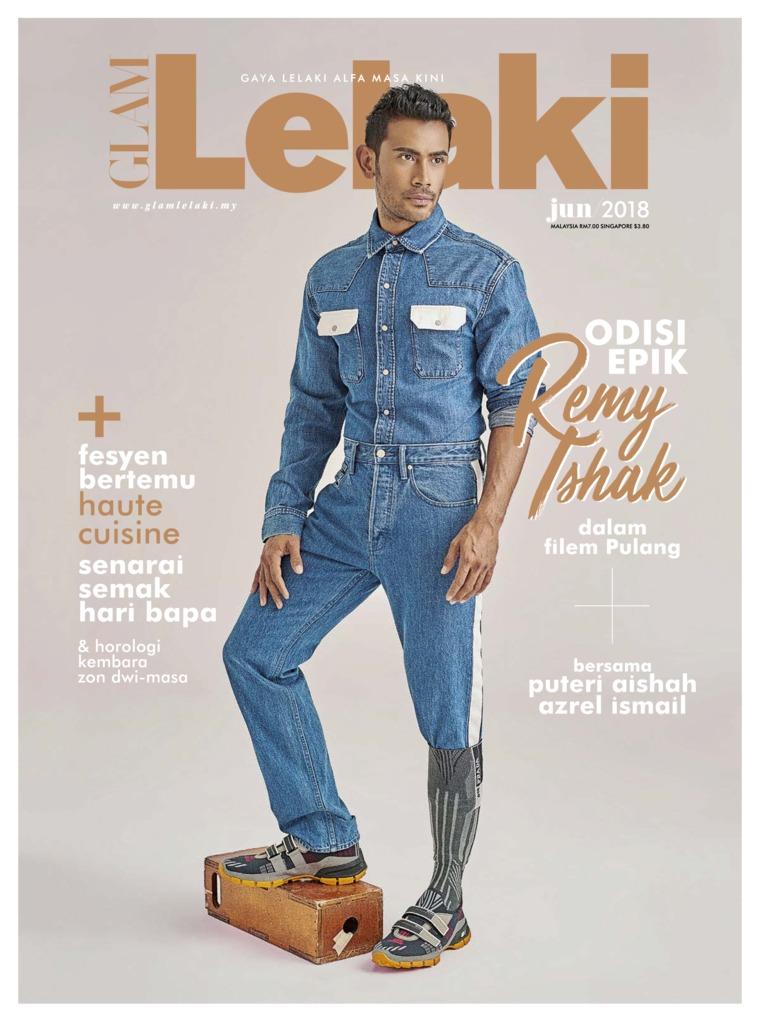 GLAM Lelaki Digital Magazine June 2018