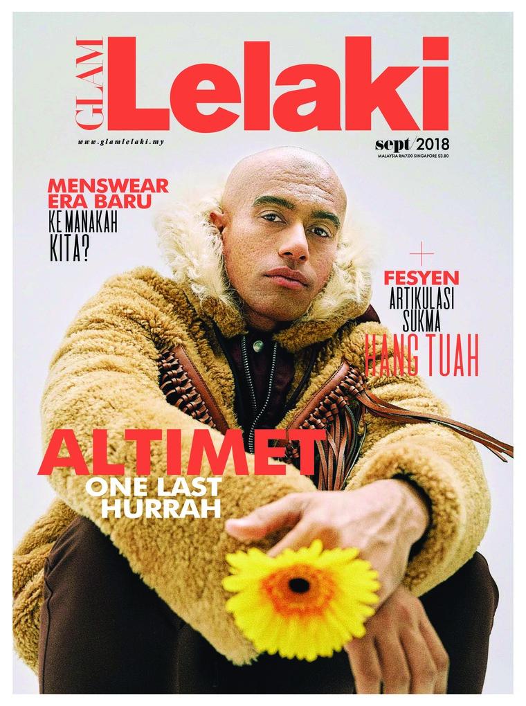 GLAM Lelaki Digital Magazine September 2018