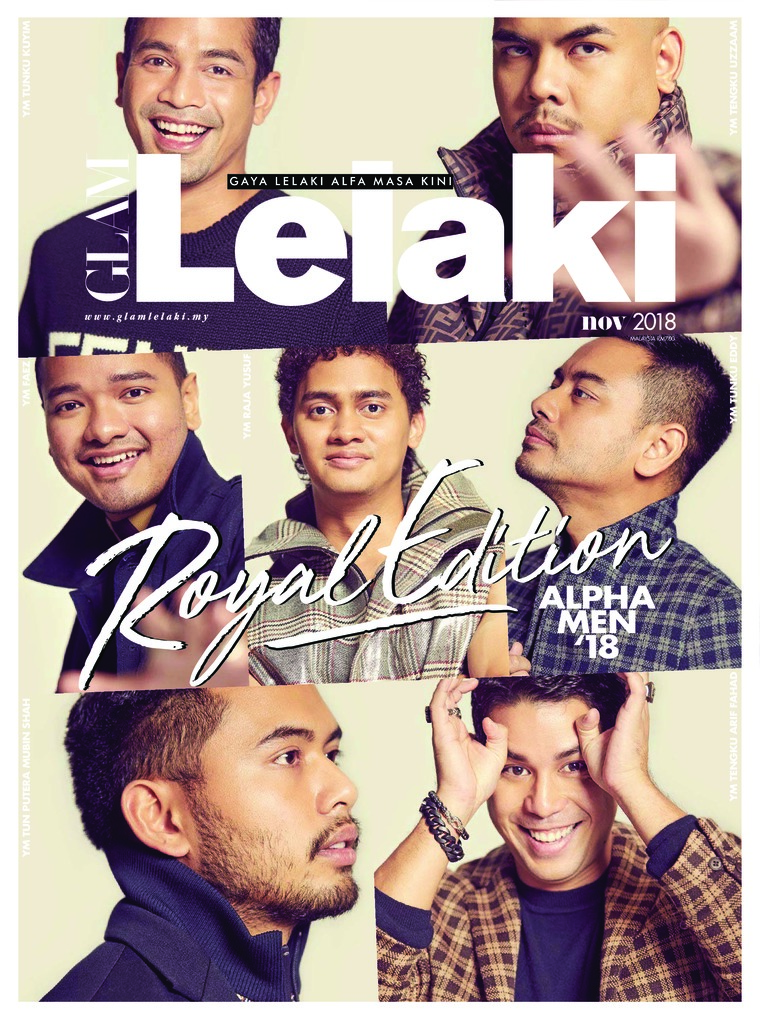 GLAM Lelaki Digital Magazine November 2018