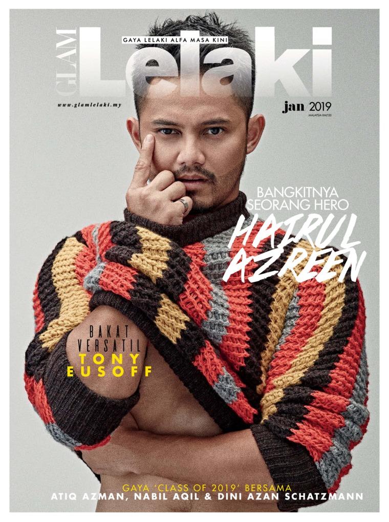 GLAM Lelaki Digital Magazine January 2019
