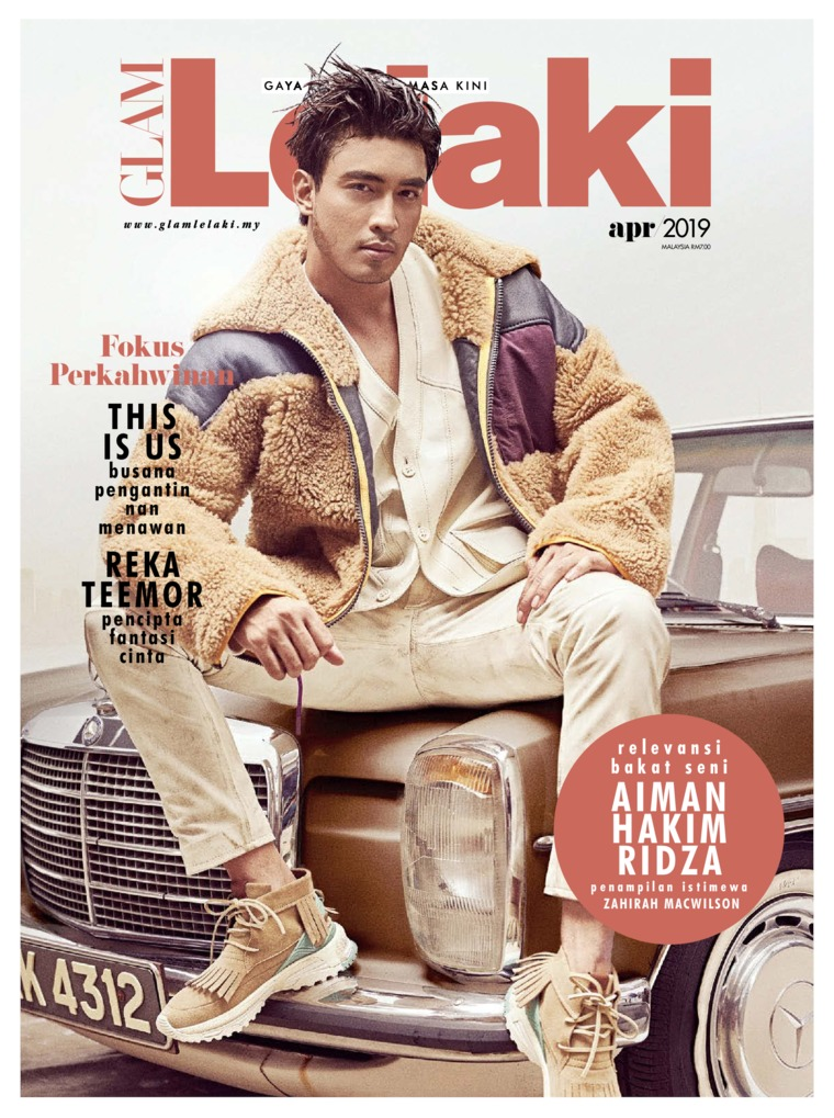 Majalah Digital GLAM Lelaki April 2019