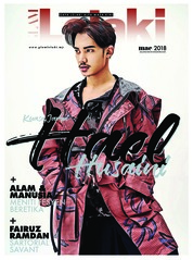GLAM Lelaki Magazine Cover March 2018
