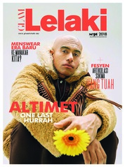 GLAM Lelaki Magazine Cover September 2018