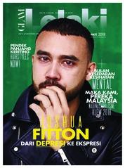 Cover Majalah GLAM Lelaki Oktober 2018