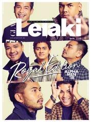 Cover Majalah GLAM Lelaki November 2018
