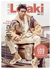GLAM Lelaki Magazine Cover April 2019