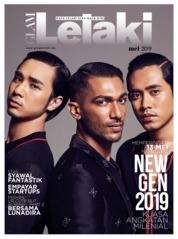 Cover Majalah GLAM Lelaki Mei 2019