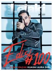 Cover Majalah GLAM Lelaki Juni 2019