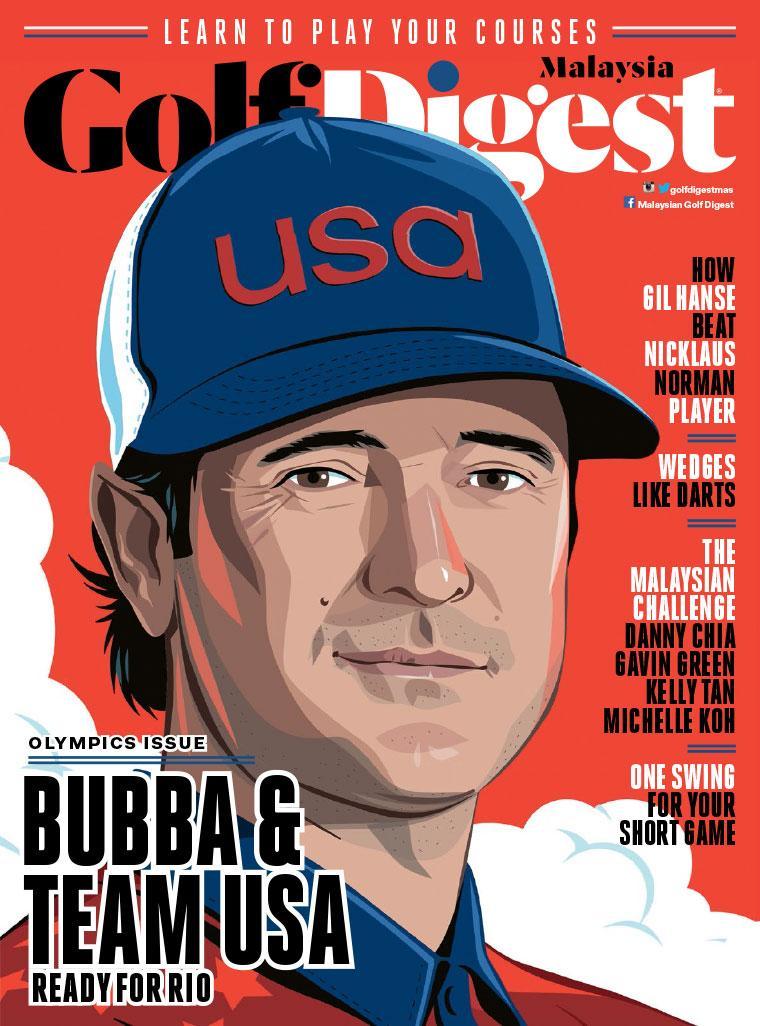 Majalah Digital Golf Digest Malaysia Agustus 2016