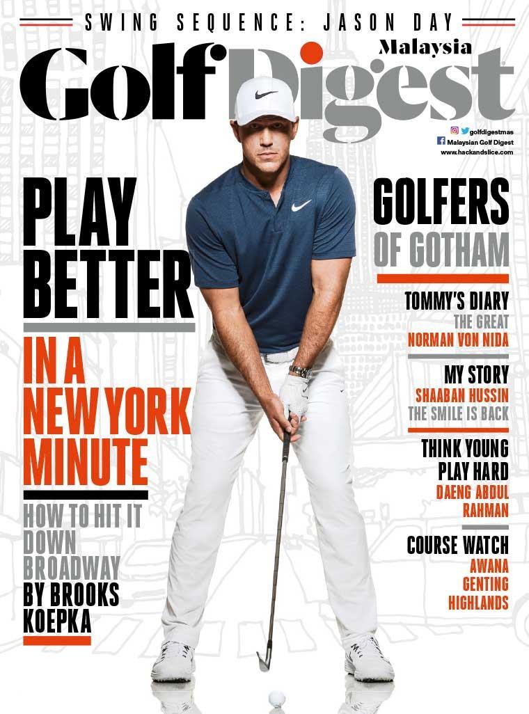 Majalah Digital Golf Digest Malaysia September 2017