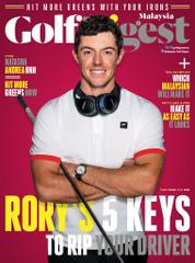 Golf Digest Malaysia Magazine Cover May 2016