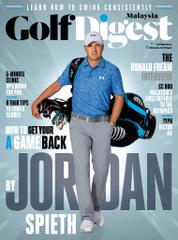 Golf Digest Malaysia Magazine Cover July 2016
