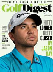 Golf Digest Malaysia Magazine Cover January 2017