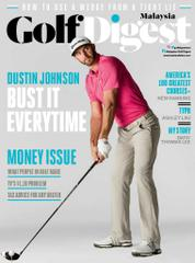 Golf Digest Malaysia Magazine Cover February 2017