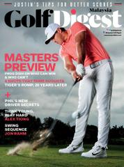 Golf Digest Malaysia Magazine Cover April 2017
