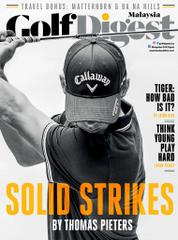 Golf Digest Malaysia Magazine Cover August 2017