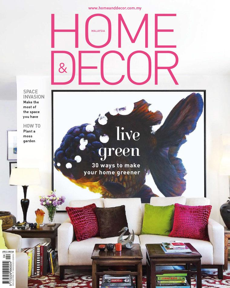 Home decor malaysia magazine april 2015 gramedia digital Home decor magazines