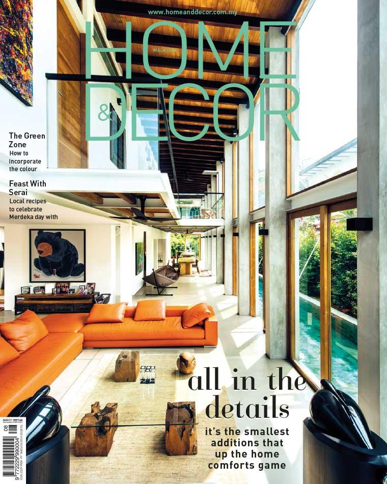 Majalah Digital HOME & DECOR Malaysia Agustus 2017