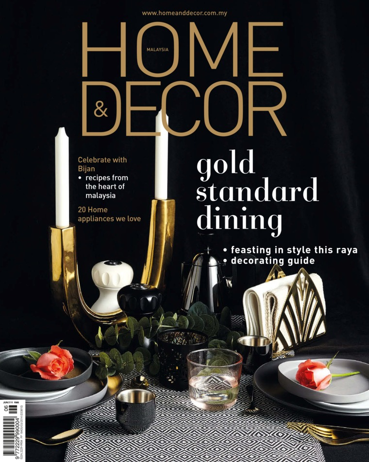 Majalah Digital HOME & DECOR Malaysia Juni 2018