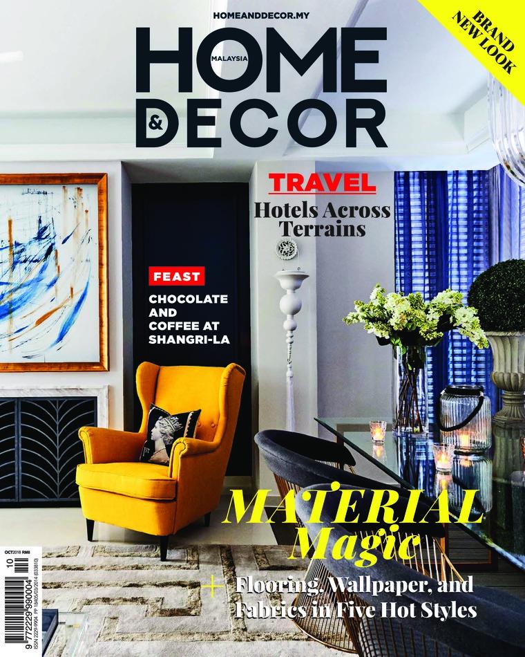 Majalah Digital HOME & DECOR Malaysia Oktober 2018