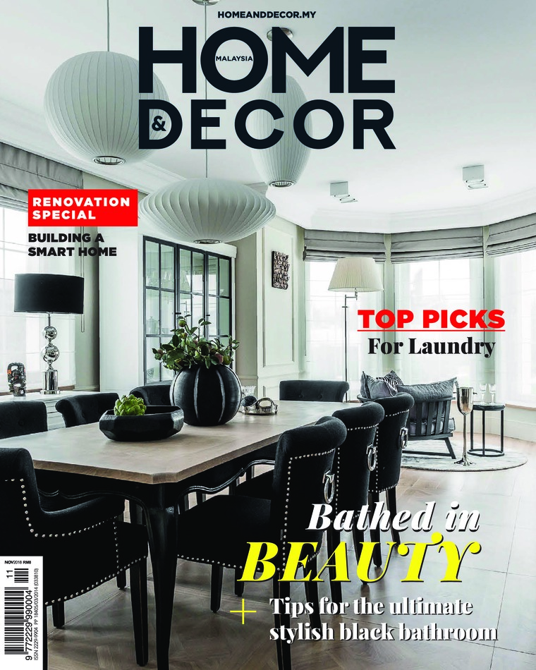 Majalah Digital HOME & DECOR Malaysia November 2018