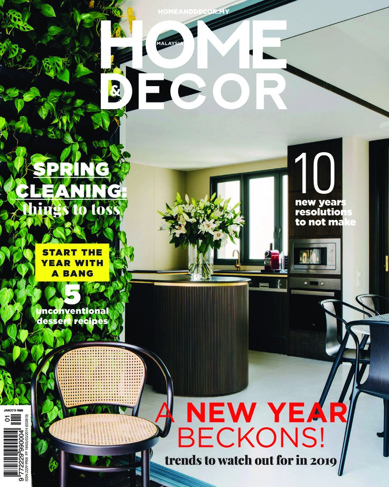 HOME & DECOR Malaysia Digital Magazine January 2019