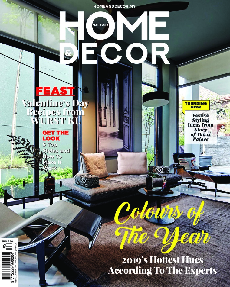 Majalah Digital HOME & DECOR Malaysia Februari 2019