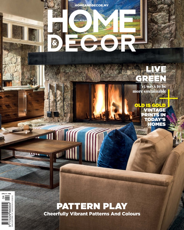 Majalah Digital HOME & DECOR Malaysia April 2019