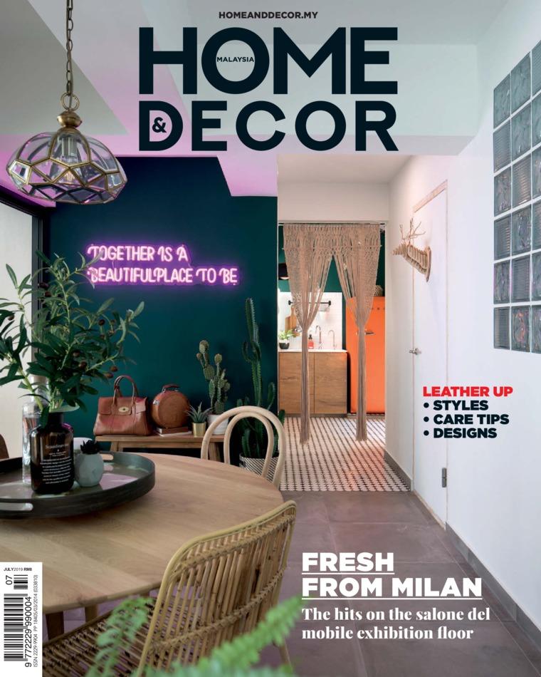 HOME & DECOR Malaysia Digital Magazine July 2019