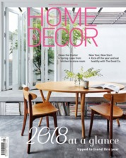 HOME & DECOR Malaysia Magazine Cover January 2018