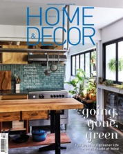 Cover Majalah HOME & DECOR Malaysia April 2018