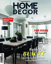 HOME & DECOR Malaysia Magazine Cover November 2018
