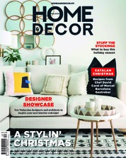 HOME & DECOR Malaysia Magazine Cover December 2018