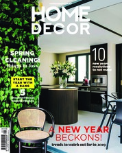 HOME & DECOR Malaysia Magazine Cover January 2019