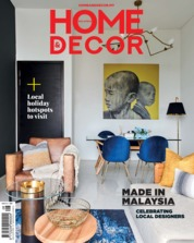 HOME & DECOR Malaysia Magazine Cover August 2019