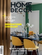 HOME & DECOR Malaysia Magazine Cover October 2019
