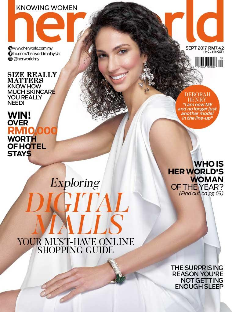 Majalah Digital her world Malaysia September 2017
