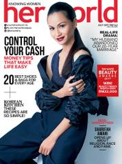 Cover Majalah her world Malaysia Juli 2017
