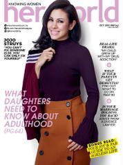 Cover Majalah her world Malaysia Oktober 2017