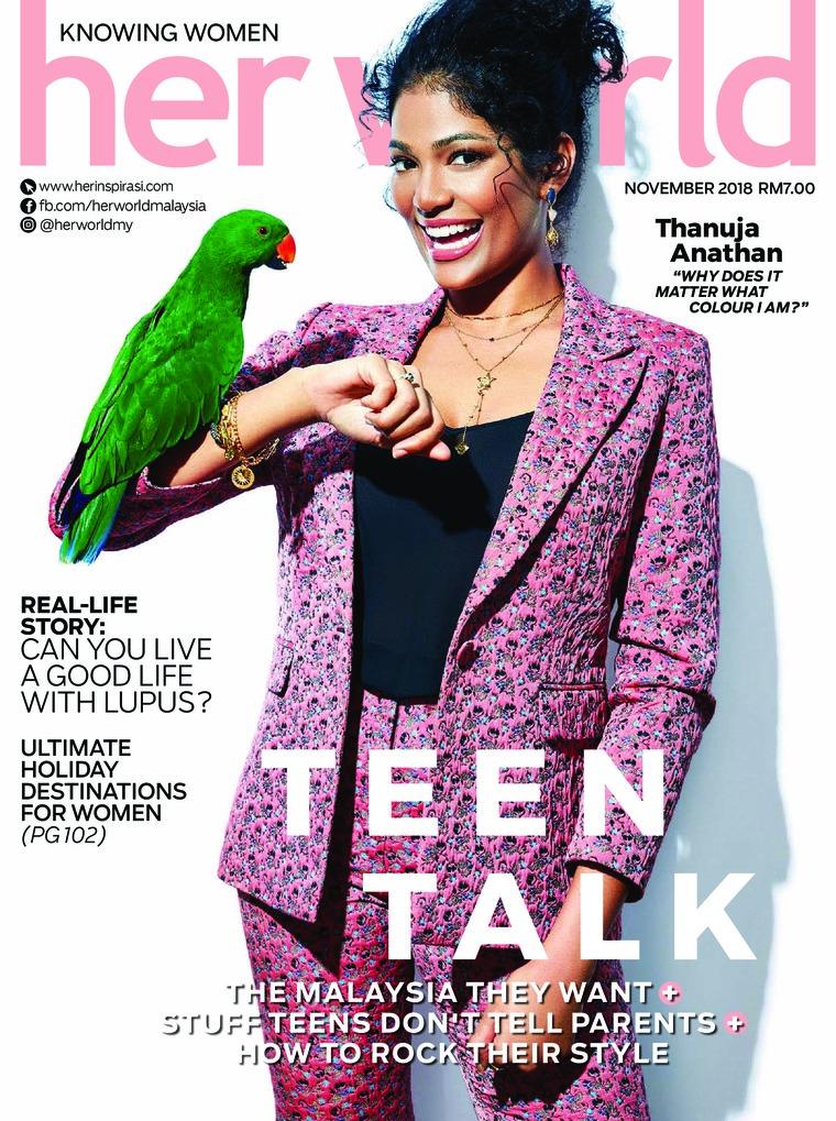 Majalah Digital her world Malaysia November 2018